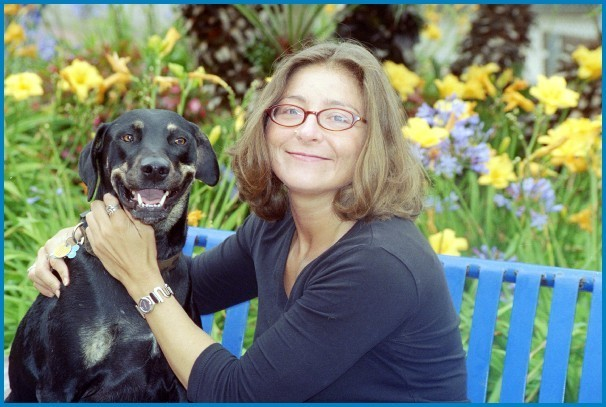 C. Christine Fair and canine associate, Ms. Oppenheimer